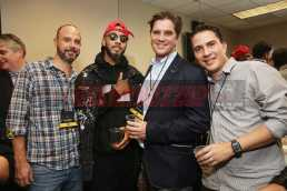 NEW YORK, NY - OCTOBER 17: (L-R) Ned Duggan, Swizz Beatz, John Burke, Roberto Ramirez Laverde attend the TIDAL X benefit concert powered by BACARDI and hosted by Fat Joe at Barclays Center of Brooklyn on October 17, 2017 in New York City. (Photo by Monica Schipper/Getty Images for BACARDI) *** Local Caption *** Ned Duggan;Swizz Beatz;Roberto Ramirez Laverde;John Burke