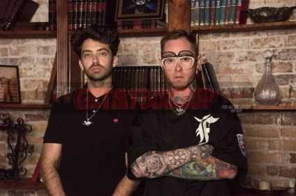 Tariq Cherif and Matt Zingler, founders of Rolling Loud Festival (Credit: Donovan Brooks)