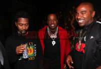 LAS VEGAS, NV - NOVEMBER 09: (L-R) Zaytoven, Yo Gotti, and Noreaga attend The Remy Martin Producers Series Season 4 Finale on November 9, 2017 in Las Vegas, Nevada. (Photo by Johnny Nunez/Getty Images for Remy Martin)