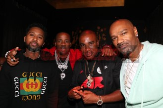 LAS VEGAS, NV - NOVEMBER 09: (L-R) Zaytoven, Yo Gotti, Noreaga, and Big Tigger attend The Remy Martin Producers Series Season 4 Finale on November 9, 2017 in Las Vegas, Nevada. (Photo by Johnny Nunez/Getty Images for Remy Martin)