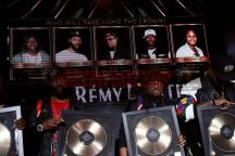 LAS VEGAS, NV - NOVEMBER 09: (L-R) Taco Manning, Tha Kraken, and Severe Jones attend The Remy Martin Producers Series Season 4 Finale on November 9, 2017 in Las Vegas, Nevada. (Photo by Johnny Nunez/Getty Images for Remy Martin)