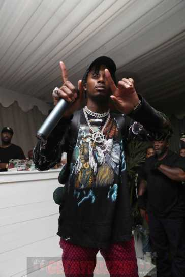MIAMI BEACH, FL - DECEMBER 07: Playboi Carti Attends The House Of Remy Martin Presents The Hypebeast 100 Awards After Party at Nautilus South Beach on December 7, 2017 in Miami Beach, Florida. (Photo by Johnny Nunez/Getty Images for Remy Martin)