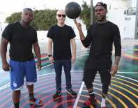 MIAMI BEACH, FL - DECEMBER 08: (L-R) O.T. Genasis, Matt W. Moore and DJ STEVIE J attends The House Of Remy Martin Presents The MVP Experience In Miami at W South Beach on December 8, 2017 in Miami Beach, Florida. (Photo by Johnny Nunez/Getty Images for Remy Martin)