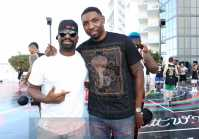 MIAMI BEACH, FL - DECEMBER 08: DJ Irie (L) and Roger Mason Jr. attend The House Of Remy Martin Presents The MVP Experience In Miami at W South Beach on December 8, 2017 in Miami Beach, Florida. (Photo by Johnny Nunez/Getty Images for Remy Martin)