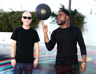 MIAMI BEACH, FL - DECEMBER 08: Matt W. Moore (L) and DJ STEVIE J attends The House Of Remy Martin Presents The MVP Experience In Miami at W South Beach on December 8, 2017 in Miami Beach, Florida. (Photo by Johnny Nunez/Getty Images for Remy Martin)