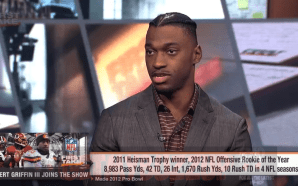 Robert Griffin III Discusses His NFL Career with Stephen A.…