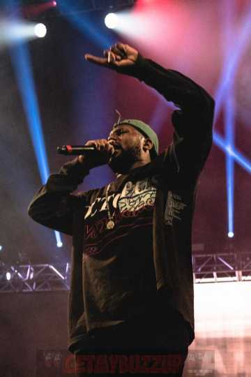 Schoolboy Q Revs Up the Crowd During His Headlining Set (Credit: Aaron Ricketts)
