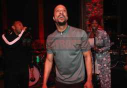 PARK CITY, UT - JANUARY 20: John Legend (L) and Common perform as The House of Remy Martin celebrates the APEX Social Club at the WanderLuxxe House with Common and Friends on January 20, 2018 in Park City, Utah. (Photo by Johnny Nunez/Getty Images for Remy Martin)