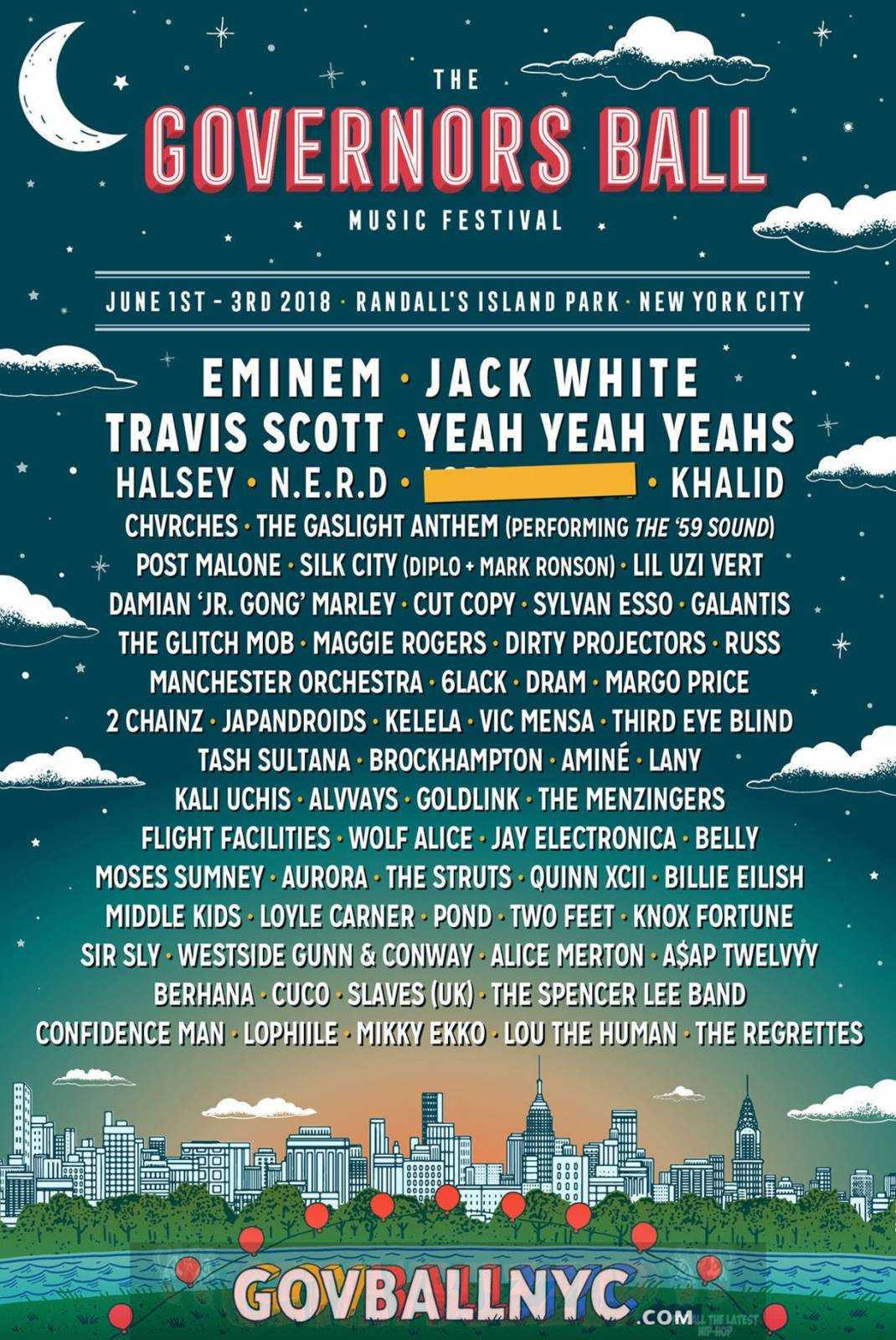 Governors Ball Music Festival 2018