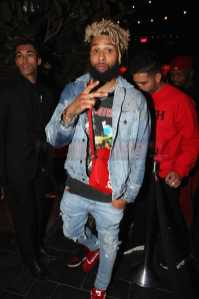 LOS ANGELES, CA - FEBRUARY 18: Odell Beckham Jr. attends the LIV On Sunday For MVP Weekend event At Avenue Los Angeles Hosted By French Montana and presented By Remy Martin on February 18, 2018 in Los Angeles, California. (Photo by Johnny Nunez/Getty Images for Remy Martin)