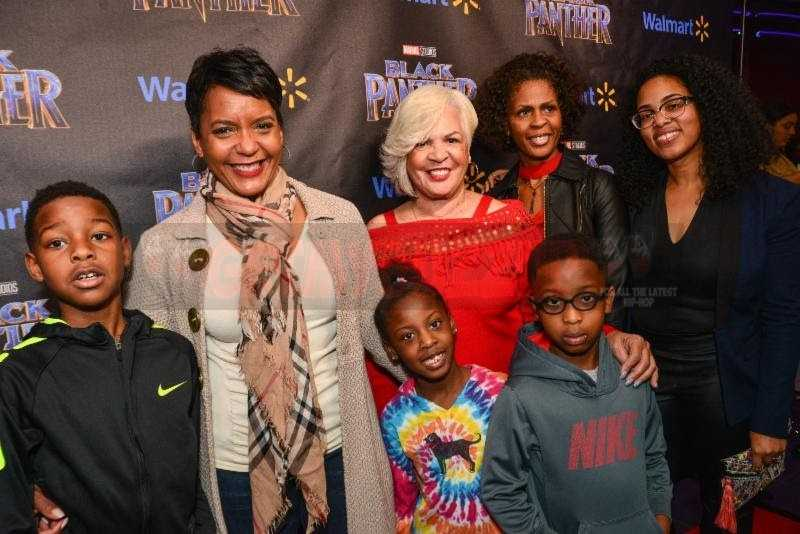 Walmart and T.I. brings out Mayor Keisha Lance Bottoms and more! #BLACKPANTHER [Photos + Video]