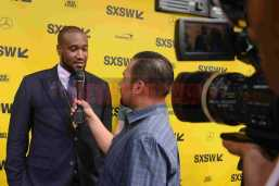 """AUSTIN, TX - MARCH 17: Director Marcus A. Clarke attends the red carpet premiere of """"Rapture"""" during SXSW 2018 at Paramount Theatre on March 17, 2018 in Austin, Texas. (Photo by Daniel Boczarski/Getty Images for Netflix) *** Local Caption *** Marcus A. Clarke"""