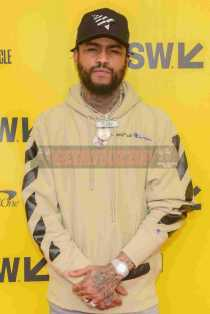 """AUSTIN, TX - MARCH 17: Dave East attends the red carpet premiere of """"Rapture"""" during SXSW 2018 at Paramount Theatre on March 17, 2018 in Austin, Texas. (Photo by Daniel Boczarski/Getty Images for Netflix) *** Local Caption *** Dave East"""