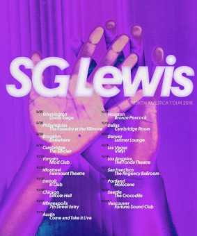 SG LEWIS ANNOUNCES FALL NORTH AMERICAN TOUR [EVENTS]