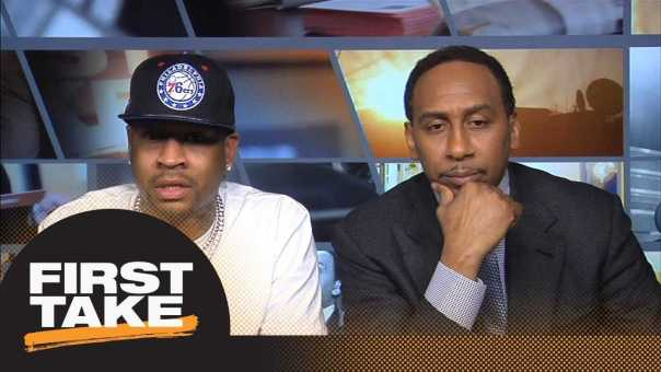 Allen Iverson picks his NBA MVP and top 5 current players | First Take | ESPN