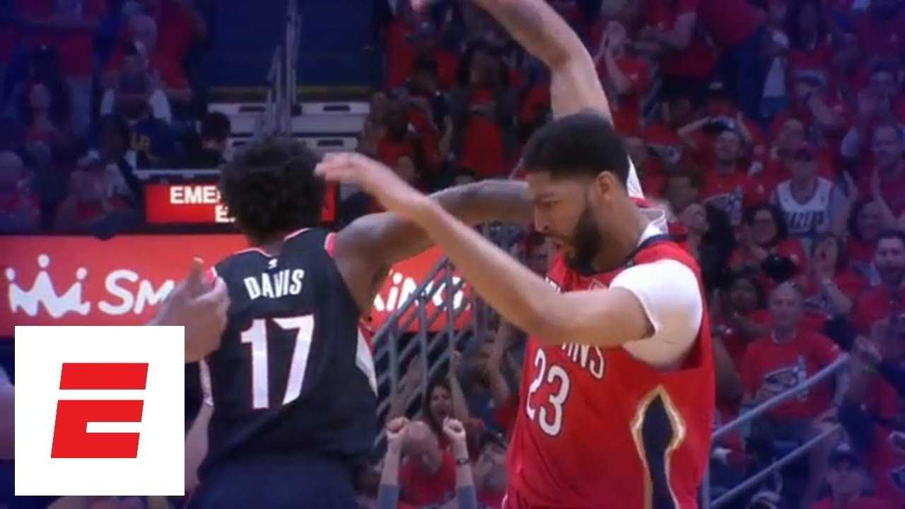 Anthony Davis puts Pelicans on his back in Game 4 against Trail Blazers | ESPN