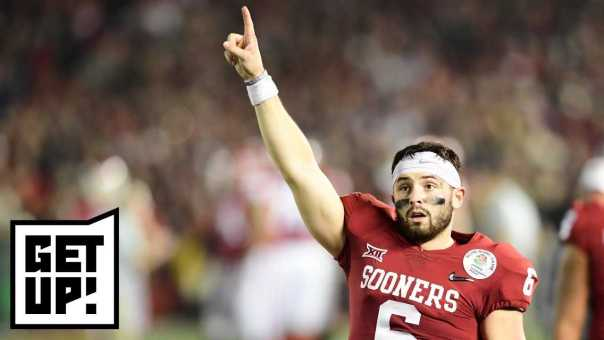 Hot Take Factory: Mike Greenberg says Baker Mayfield is worth NFL draft No. 1 pick | Get Up! | ESPN