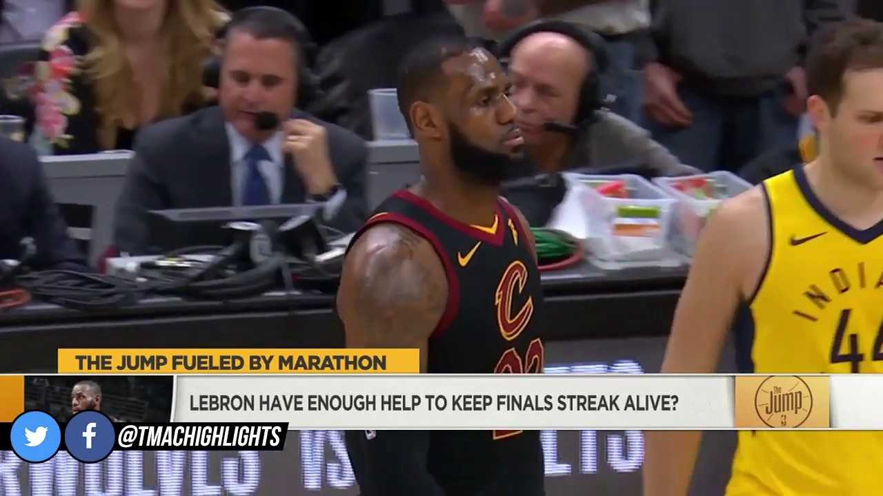 McGrady Doesn't Think LeBron Has Enough Help To Get Through Pacers   The Jump