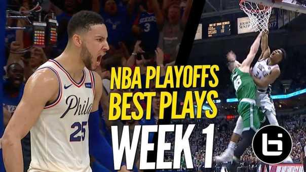NBA Playoffs CRAZY TOP PLAYS! Best Plays From Week 1!