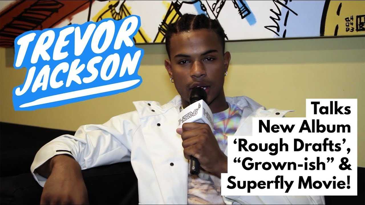 "Trevor Jackson Talks New Album, ""Grown-ish,"" & 'Superfly' Movie!"