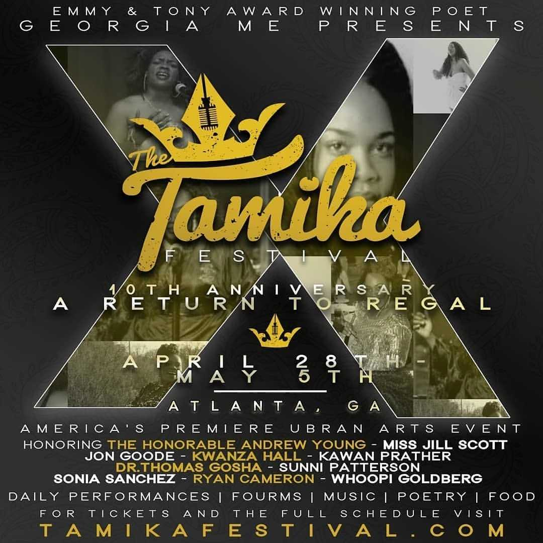 """The 10th Annual TAMIKA FESTIVAL: """"Return To Regal"""" [Events]"""
