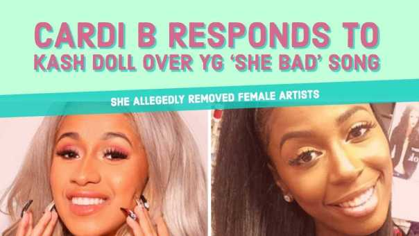 Cardi B RESPONDS to Kash Doll and Others Over YG