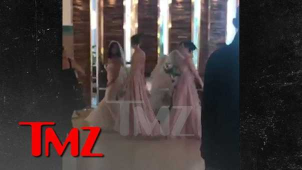 Danielle Staub Gets Married to Marty Caffrey in the Bahamas | TMZ