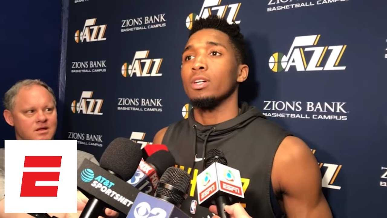 Donovan Mitchell: 'The biggest thing I respect about Russ is the competitive nature' | ESPN