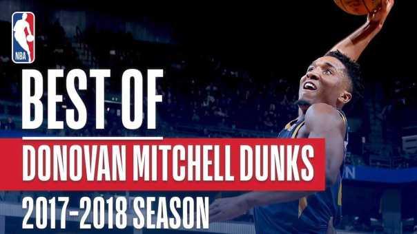 Donovan Mitchell's Best Dunks From the 2017-2018 NBA Regular Season