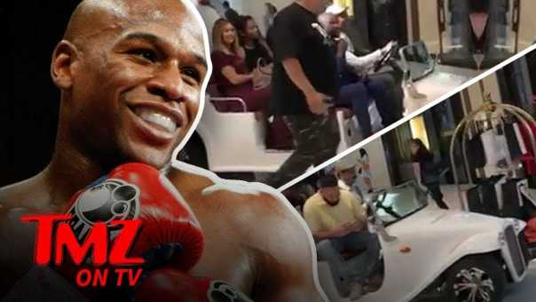 Floyd Is Too Good To Walk Through The Mall | TMZ TV