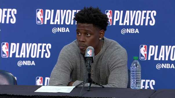 Jrue Holiday Postgame Interview | Warriors vs Pelicans Game 4