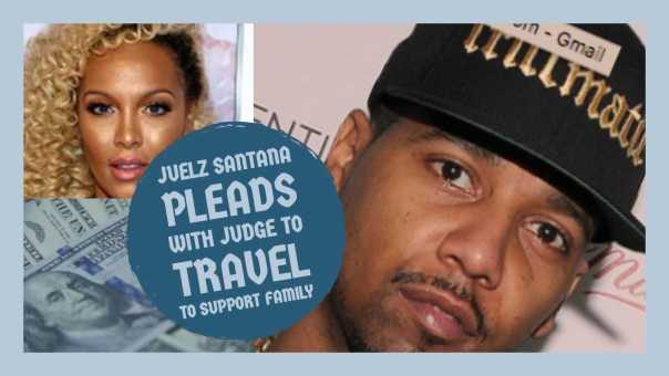 Juelz Santana PLEADS with Judge to Travel so He Can Feed His Family, He Is on 0000 BAIL