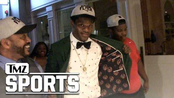 Lamar Jackson: I'm Excited to Learn from RG3   TMZ Sports