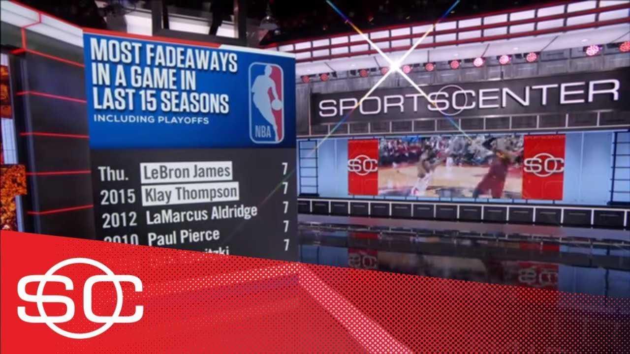 LeBron James fadeaways among NBA's best signature moves   SportsCenter   ESPN