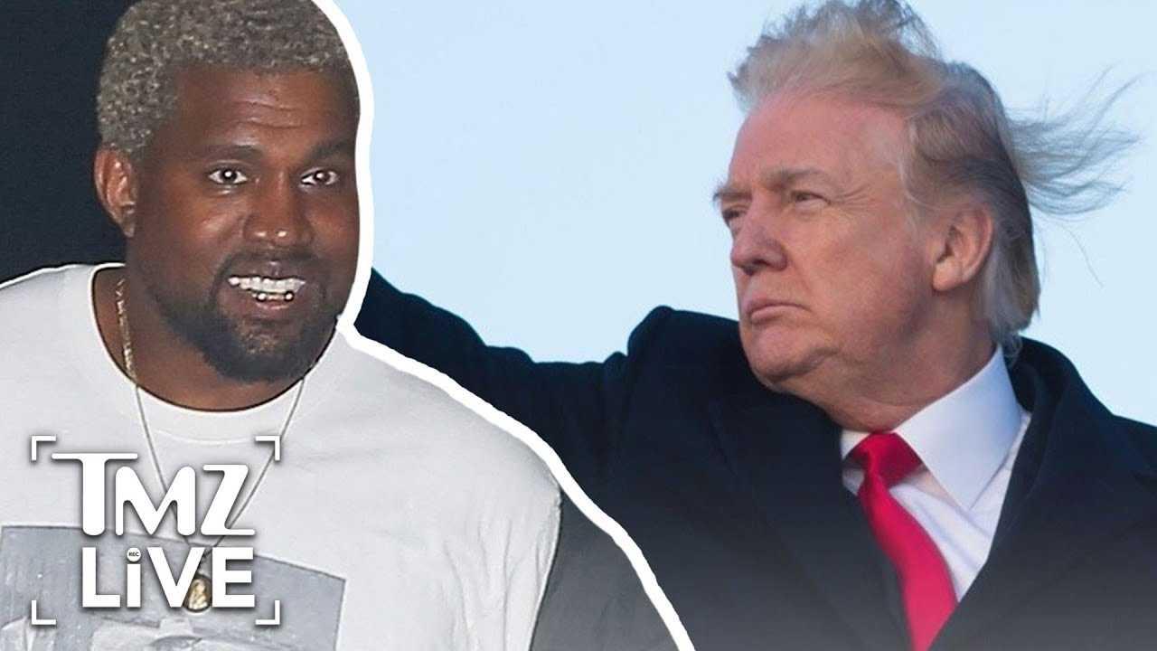 President Trump Thanks Kanye West!   TMZ Live