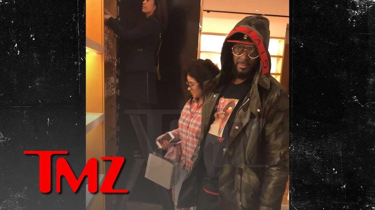 R. Kelly Seen Shopping with 'Brainwashed Sex Slave' Joycelyn Savage | TMZ