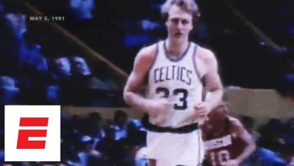 When Larry Bird's putback lifted Celtics over Rockets in 1981 NBA Finals | ESPN Archives