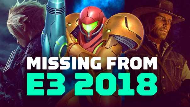15 Huge Games Missing From E3 2018