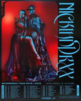 NICKI MINAJ AND FUTURE ANNOUNCE CO-HEADLINING 'NICKIHNDRXX' TOUR