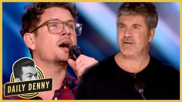 America's Got Talent: Simon Cowell Hits The Golden Buzzer For Father Of Six   Daily Denny