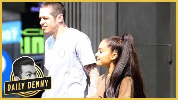 Ariana Grande and Pete Davidson Are Already Going Furniture Shopping?! | Daily Denny