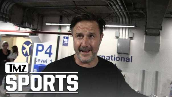 David Arquette Threatens RJ City, 'I'm Gonna Beat Your Ass!' | TMZ Sports