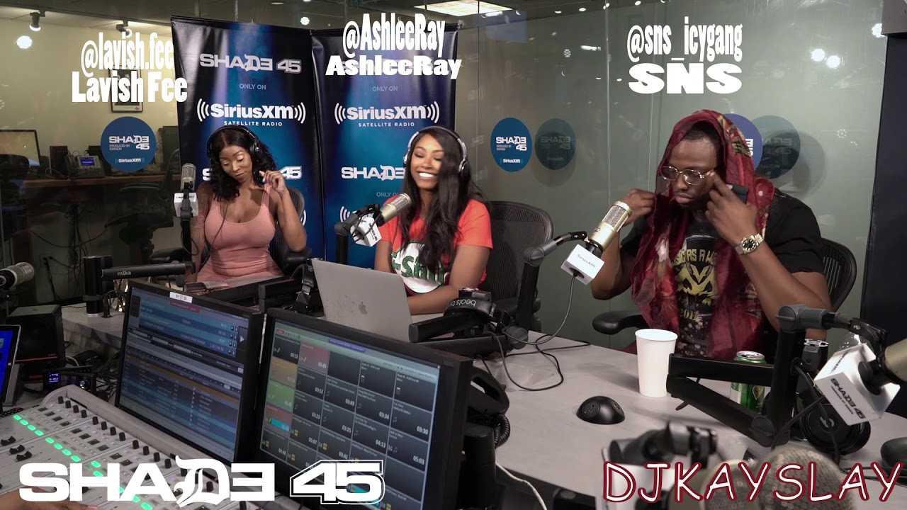 Dj Kayslay interviews MC SNS at Shade45 6/20/18