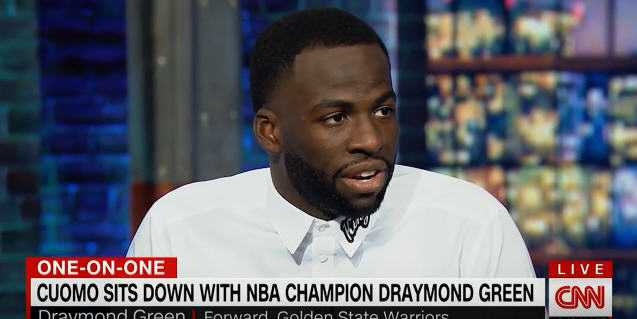 Draymond Green on Not Going to the White House Again [Interview]