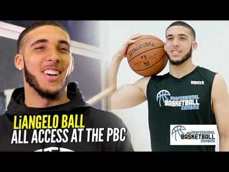 """""""Follow Your DREAMS"""" LiAngelo Ball All Access & Behind The Scenes at The Pro Bball Combine!!"""