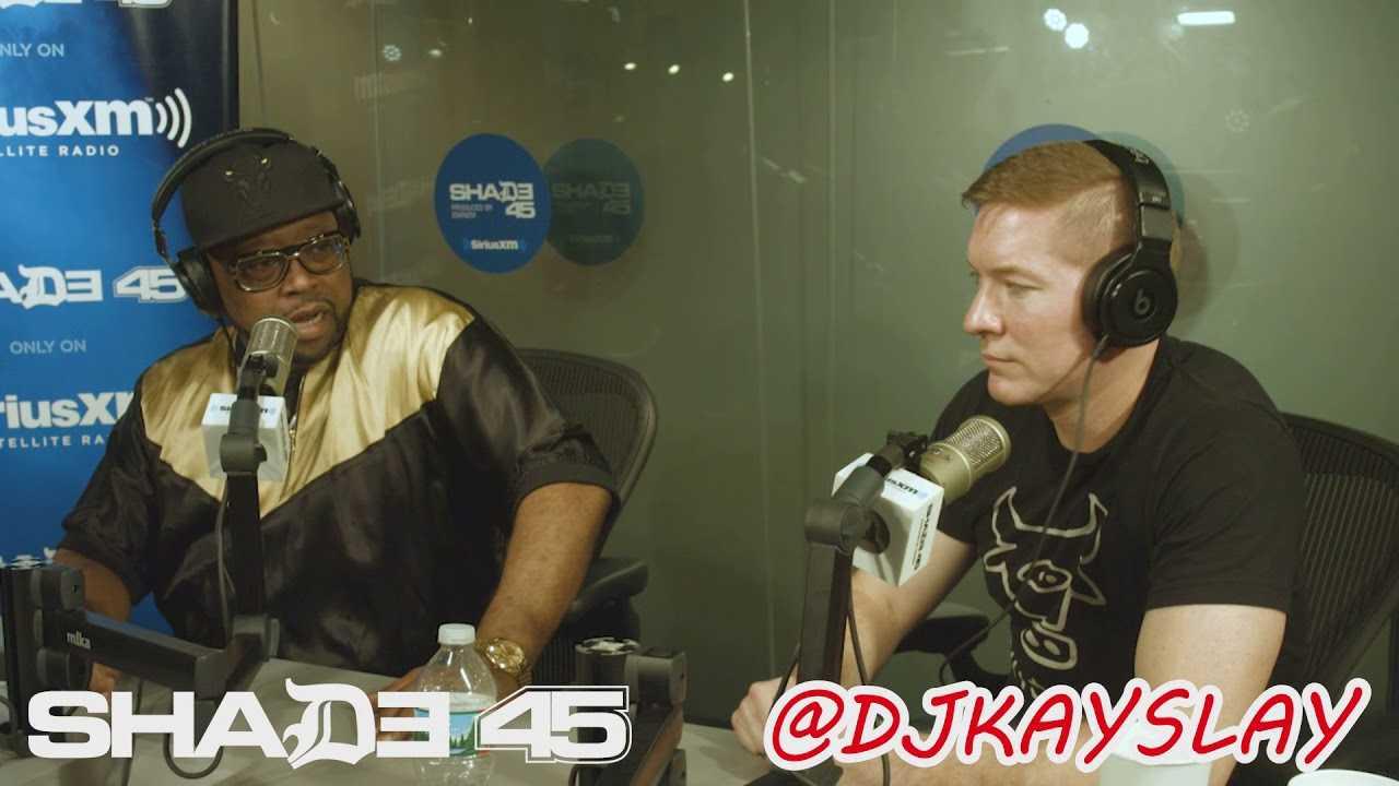 Joseph Sikora stopped by Dj Kayslay show at Shade45 6/6/18