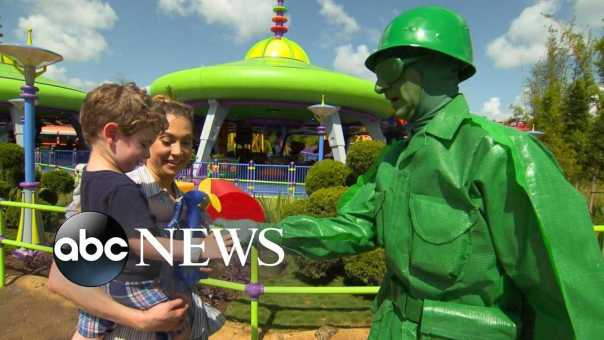 New Toy Story Land turns you into an honorary toy in Andy's backyard