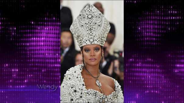 2018 Met Gala Fashions: Rihanna