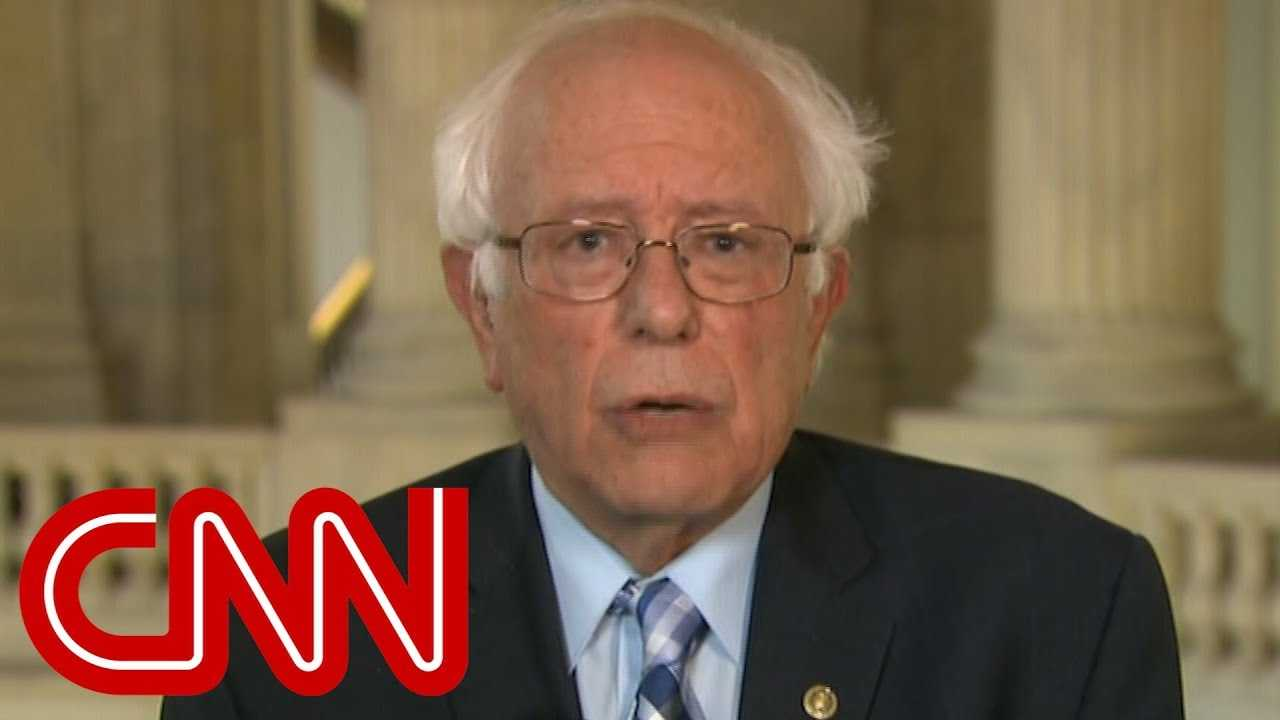 Bernie Sanders speaks on Trump's possible SCOTUS nominee
