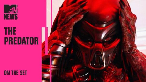 BTS of 'The Predator' w/ Keegan-Michael Key, Olivia Munn, Sterling K. Brown & More | MTV News